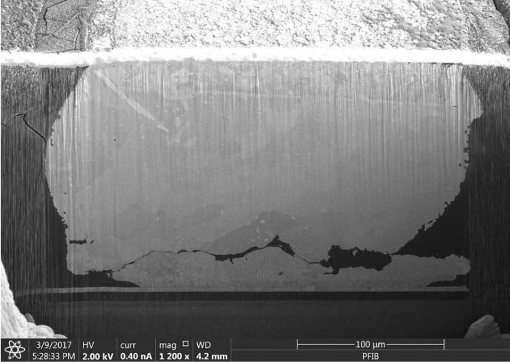 晶圆级芯片可靠性测试后高电阻值异常如何询失效点?